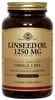 Solgar Linseed Oil 1250 mg 90 Softgels