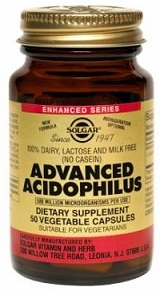 Solgar Advanced Acidophilus Caps