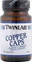 Twinlab Copper Caps