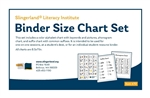 Binder Size Chart Set
