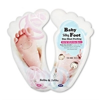 BABY SILKY FOOT ONE SHOT PEELING <br/>婴儿丝柔保湿脚膜