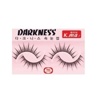 DARKNESS FALSE EYELASHES K.ma7