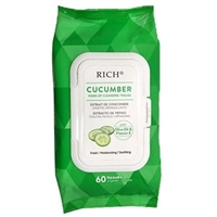 CUCUMBER MAKE UP CLEANSING TISSUES