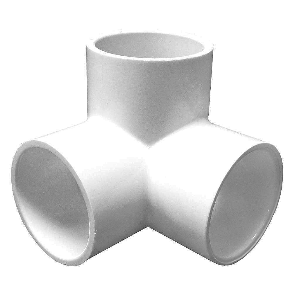 Pool Piping Fittings To Blow Out : Degree side out elbow fitting slip