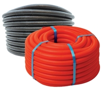 Flexible LDPE NON-Split Loom Tubing - Corrugated