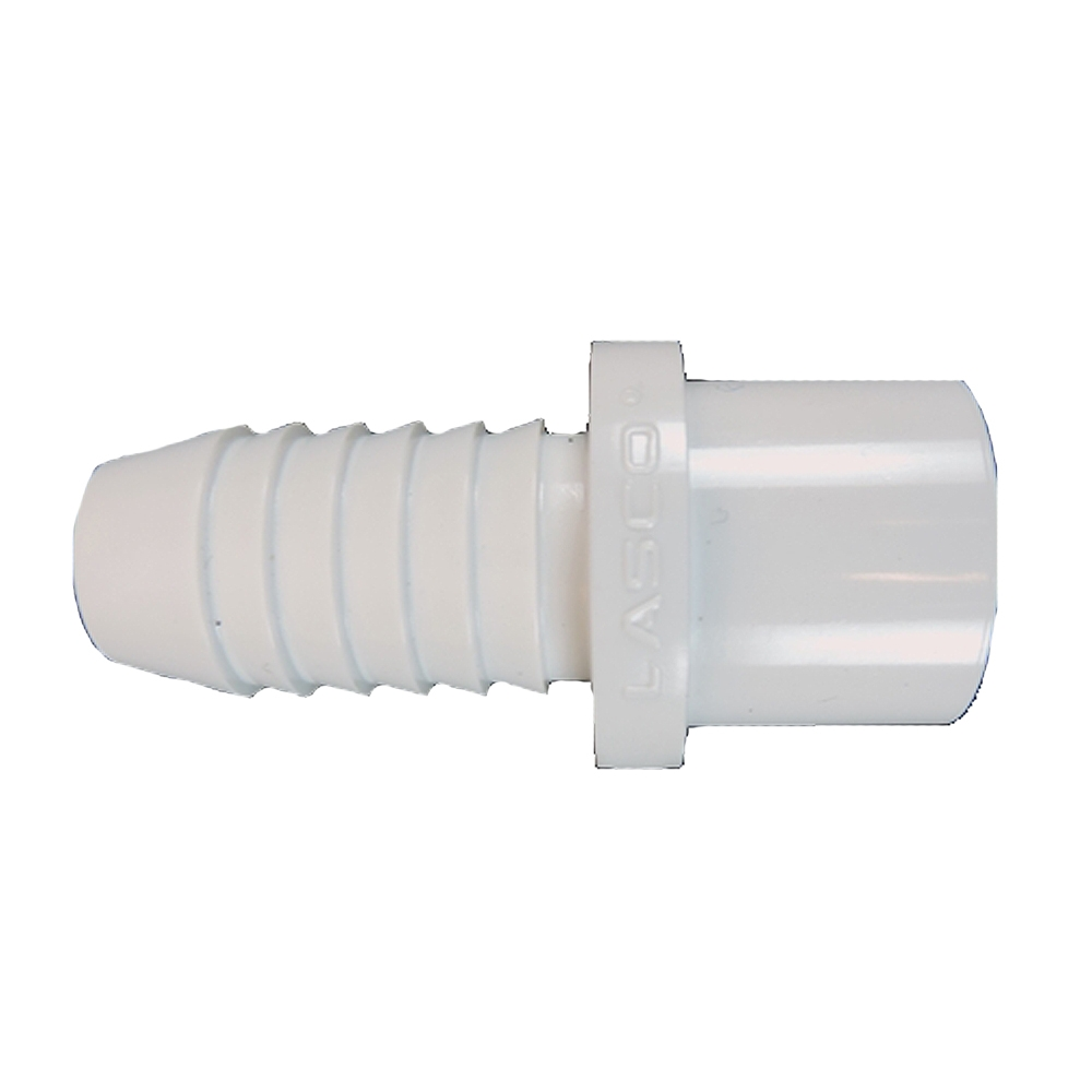 Pvc insert adapter barb spig