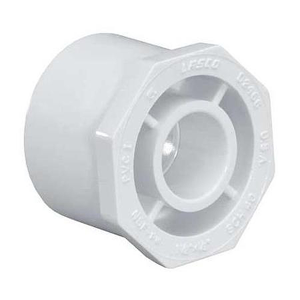 Reducer bushing spig slip for schedule pvc pipe