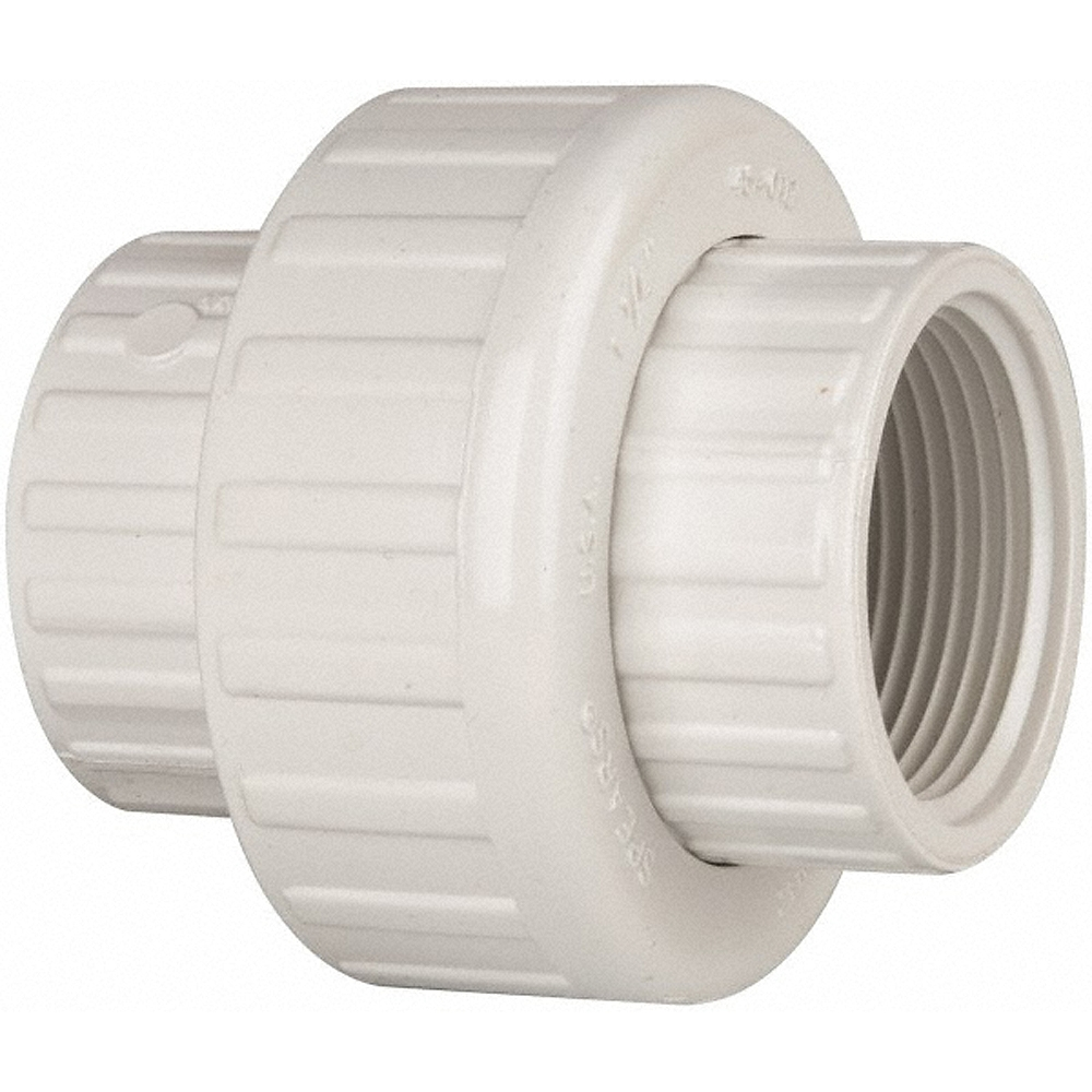 Schedule union fipt for pvc pipe