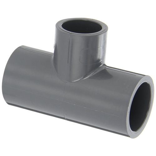 Slip tee fitting for schedule pvc pipe