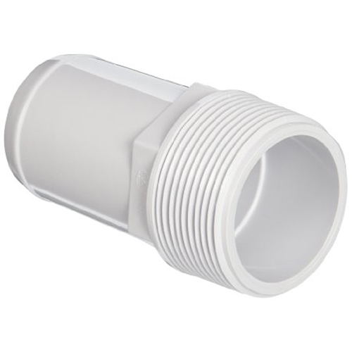 "Smooth Straight Combo Hose Adapter - 1.5"" X 1.5""/1.25"""