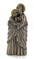 Holy Family Standing Cold Cast Bronze 10""