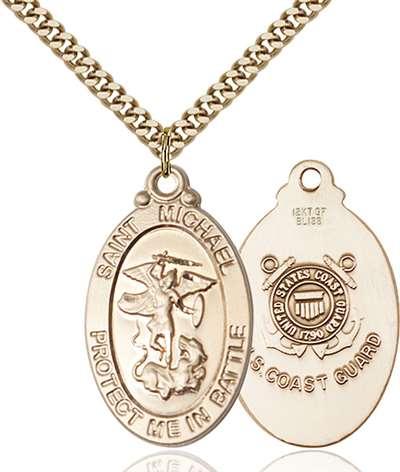 1171gf324g brgold filled st michael pendant aloadofball Image collections