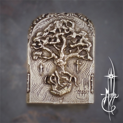 The Oak Tree Belt Buckle