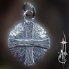 Small Solar Cross Amulet