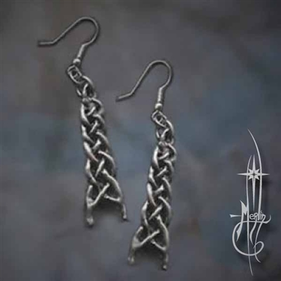 Woven Spear Earrings