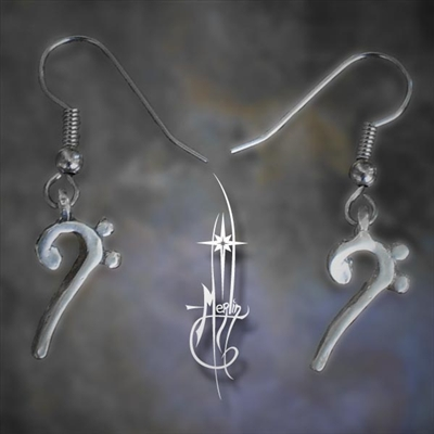 Bass Clef Earrings