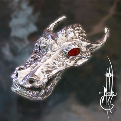 Flame Dragon Money Clip