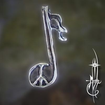 Peace Music Amulet