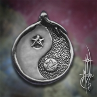Yin Yang with Ouroboros Amulet
