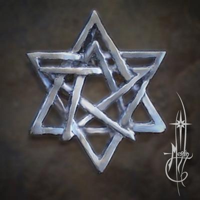 Merlin's Balanced Star Amulet