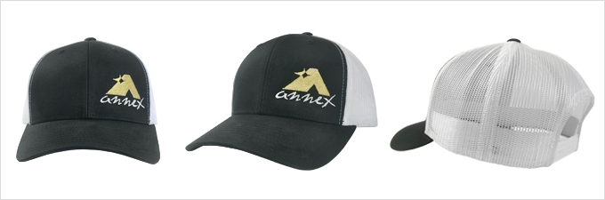 Annex Snap Back - Black Baseball Hat