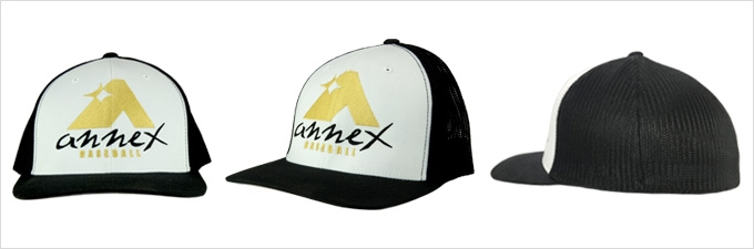 Annex White Baseball Hat