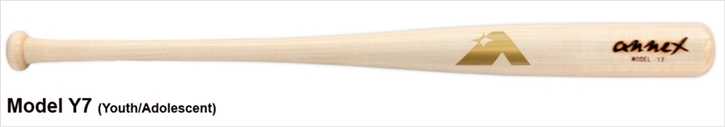 Annex Youth Wood Bat Model Y7