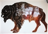Buffalo Metal Wall Art