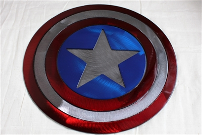 Captain American Metal Wall Decor