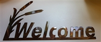 Cattail Welcome Sign