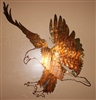 """Eagle Landing""  Metal Wall Art piece from HGMW"