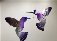Hummingbird Metal Wall Decor