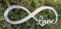 Infinite Love Metal Art