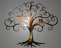 "Love Bird Swirled Tree of Life 24"" tall  by HGMW"