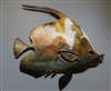 Moorish Idol Fish copper/bronze