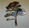 Oak Tree Metal Wall Art Decor