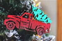 Payson Arizona Red Truck Ornament