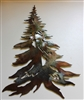 Standard Pine Tree Metal Wall Art Decor