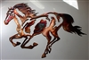 Running Horse Equestrian Metal Wall Art