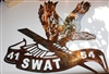 Special Order Request LAPD SWAT Metal Art