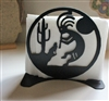 Southwestern Kokopelli Napkin Rack Satin Black