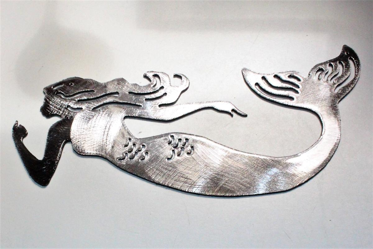 Mermaid Wall Art mermaid metal art