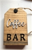 Tiered Tray Coffee Bar Tag Wooden Decor