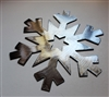 Metal Wall Art Snowflake