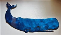 Whale Metal Wall Art