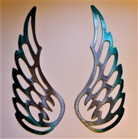 Angel Wings Metal Wall Art