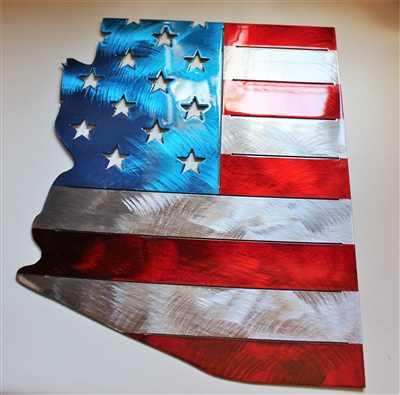 Patriotic Grand Old Flag Metal Wall Art