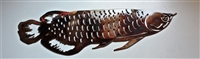 Arowana Metal Art Fish