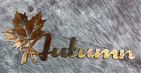 Autumn Leaf Metal Wall Decor