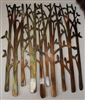 Birch Tree Metal Wall Art